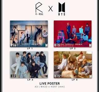 BTS Posters[Vidoes]