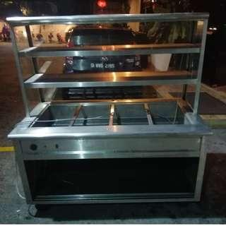 Stainless Steel 2 Tier Bain Marie (4 Holes)