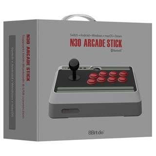 BRAND NEW N30 Arcade Stick Bluetooth 8Bitdo Controller Switch Compatible Gaming Console Android iOS MacOS Windows