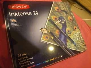 Derwent inktense 24 like new