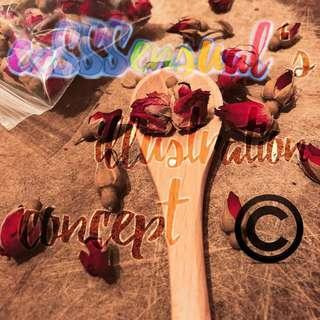 🚚 Dried Rose Buds (Food Grade)