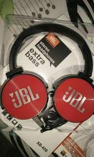 JBL Headphones red