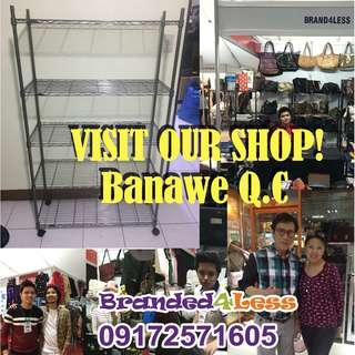 Stainless Steel Wire Metal Shelves Cabinet Racks Display