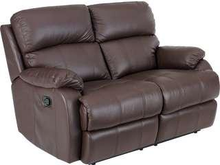 🚚 2 seater recliner sofa (leather)