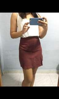 Venetian Red Skirt