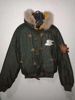 Winter coat army