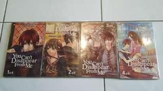 You can't disappear from me (full set manga indonesian)
