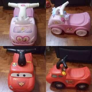🚚 Disney Car Push Cars, Baby Cars