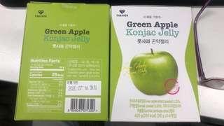 韓國 減肥 taras28 green apple Konjac Jelly 青蘋果啫喱 T28青蘋果纖體jelly