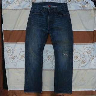 UNIQLO jeans Accent Selvedge size 31