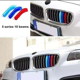 BMW F10 F11 Kidney Grill 2014-2017 (10 Beam)