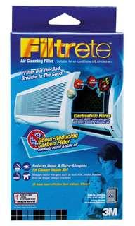 3m Filtrete Carbon Aircon filter *Brand new* Reduce Air dust/ smoke/ odour. Good for allergy.