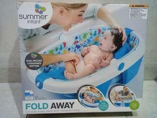Bak Mandi Bayi Lipat (Fold Away) merk Summer Infant