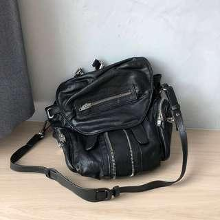 PU leather backpack 3-way bag