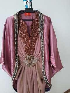 Defrico Audy long dress and matching jaket
