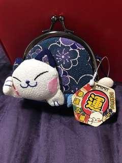 🚚 Fortune Cat Coin Purse