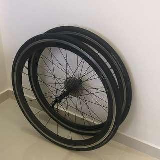 3T Accelero 40 Team Stealth Carbon Wheelset