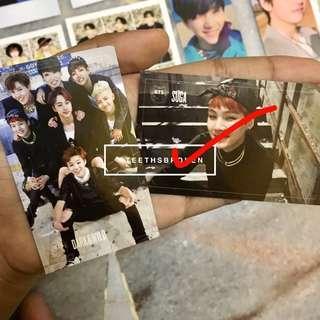 BTS DARK & WILD GROUP PHOTOCARD