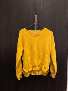 Mustard sweater/jumper free size