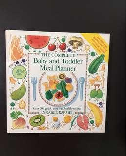 Baby & Toddler Meal Planner