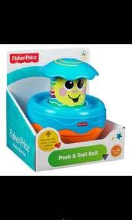 🚚 Fisher-Price Peek and Roll Ball