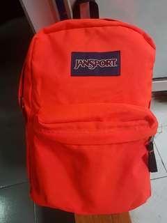 Tas Jansport Backpack Orange Muluss