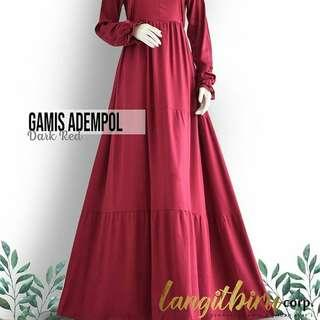 Gamis adempolll