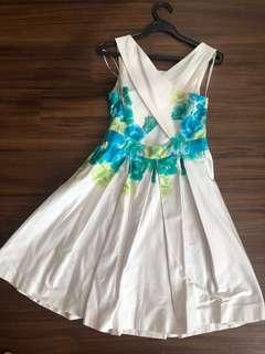 #dressforsuccess30 Max and Cleo open back dress