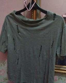 Atasan korea kaos top blouse