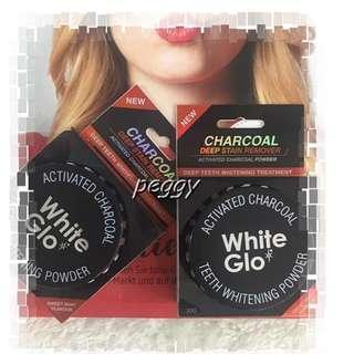 🚚 澳洲White Glo甜薄荷活性碳牙齒美白粉30g