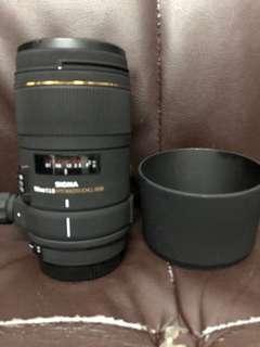 新淨靚仔 Sigma 150mm F2.8 Macro DG Canon