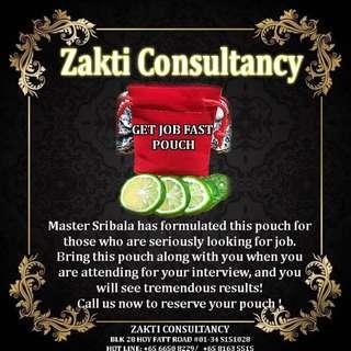 ZAKTI CONSULTANCY GET JOB FAST POUCH