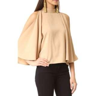 BNWOT FINDERS KEEPERS Camel High Neck Flared Top (XS)