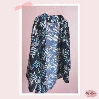 Kimono Outerwear Outer Murah