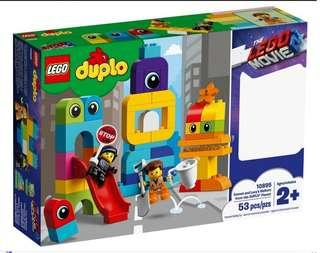 Lego Duplo 10895 Emmet and Lucy's visitors from the Duplo Planet 2019 53 pcs