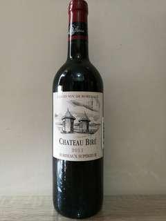 法國波爾多 BIRE 2011紅酒