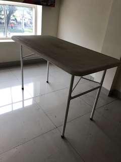 Jual cepat meja lipat kapasitas 4 org