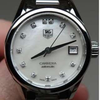 Tag Heuer Carrera Women's Diamond Automatic Watch