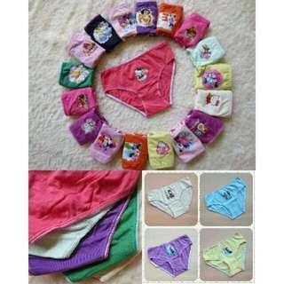 🚚 現貨)5件100 女童三角內褲 多種顏色款式