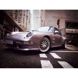 PORSCHE 911 964 Turbo 3.6 4WD 棍波 MT