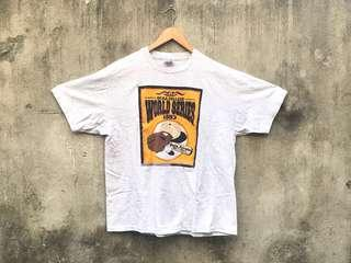 🚚 Vintage 古著二手 Hanes 1993 NCAA College 灰色T-shirt 美國製
