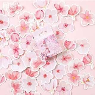 [PO] sakura sticker seal