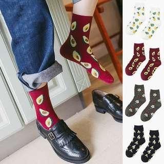 🚚 Fruit Printed Socks
