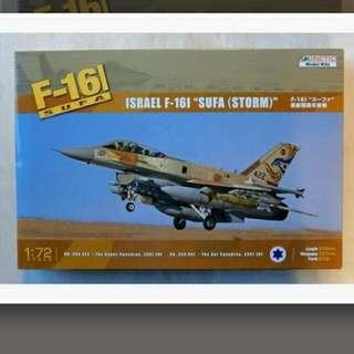 Kinetic 72 Scale F-16I Sufa (Storm) Brand New Only 2 Boxes Available