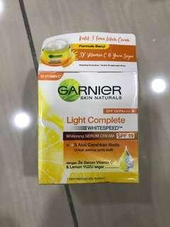 Garnier whitening serum cream SPF19 (COD only)