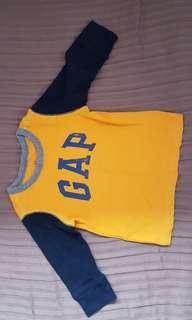 Baby Gap onesies and RL tops