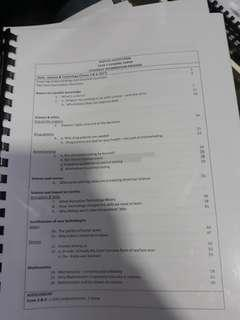 RI H1 GP SCIENCE AND TECHNOLOGY INFO PACKAGE (HARD COPY)