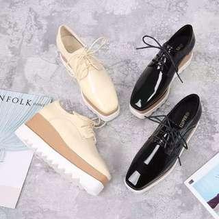 韓國厚底鬆糕鞋