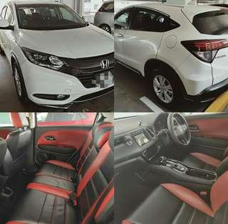 Grab/Gojek/Ryde ready Honda Vezel hybrid for rent/LTO
