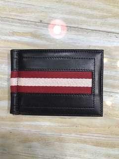 BALLY money clip wallet